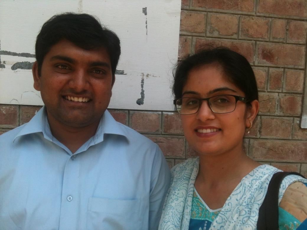 Drs Samuel Shehzad and Shelly Saima Samuel